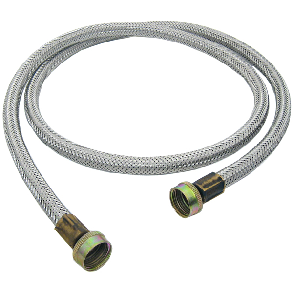 gunk stainless steel washing machine hoses two pack ebay. Black Bedroom Furniture Sets. Home Design Ideas